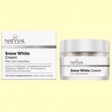 Snow White Cream - Piel con Manchas - 50 ml - Natysal