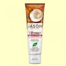 Dentífrico Crema de Coco Blanqueador - 119 gramos - Jason