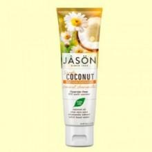 Dentífrico Coco y Camomila - Calmante - 119 gramos - Jason