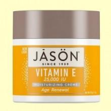 Crema Vitamina E 25000 IU Age Renewal - 113 gramos - Jason