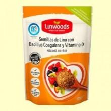 Semillas de Lino Molidas con Bacillus Coagulans y Vitamina D - 200 gramos - Linwoods