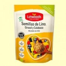 Semillas de Lino Girasol y Calabaza Molidas Bio - 200 gramos - Linwoods