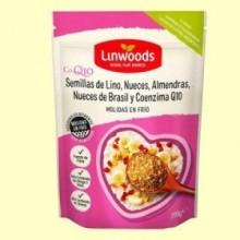 Semillas de Lino Almendras Nueces y Nueces de Brasil Molidas - 200 gramos - Linwoods
