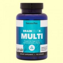 Brainceutix Multi - 90 cápsulas - Natures Plus