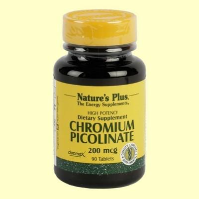Chromax II- Picolinato de cromo - Minerales - Natures Plus - 90 comprimidos