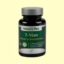 T-Man - Bienestar masculino - Natures Plus - 30 cápsulas