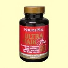 Ultra Hair Plus con MSM - 60 comprimidos - Natures Plus