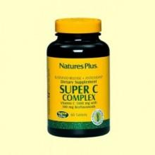 Super C Complex - Vitamina C - 60 comprimidos - Natures Plus