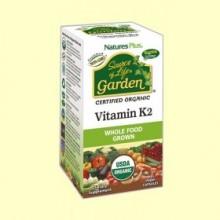 Vitamina K2 Garden - 60 cápsulas - Natures Plus