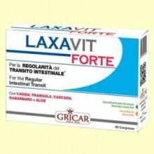 Laxavit Forte - Regulador intestinal - 60 comprimidos - Gricar