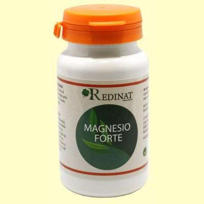 Magnesio Forte - 80 cápsulas - Redinat