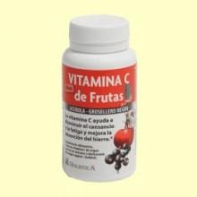 Vitamina C de Frutas - 60 cápsulas - Phytovid