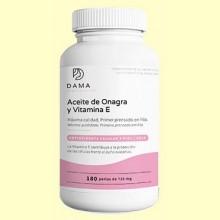 Aceite de onagra y vitamina E - 180 perlas - Herbora