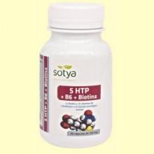 5 HTP + B6 + Biotina - 60 cápsulas - Sotya