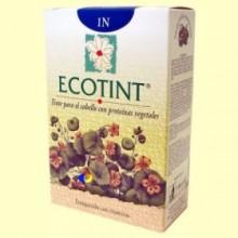 Tinte para el cabello Negro 1N - 130 ml - Ecotint