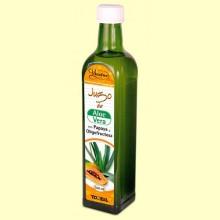 Jugo de Aloe Vera con Papaya y Oligofructosa Vitaloe - 500 ml - Tongil