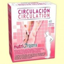 Nutriorgans Circulación - 40 cápsulas - Tongil