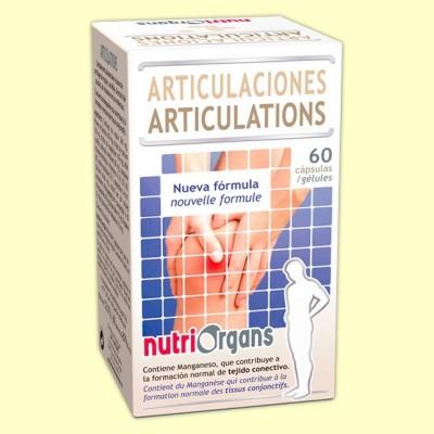 Nutriorgans Articulaciones - 60 cápsulas - Tongil
