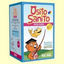 Osito Sanito Pescado Omega 3 - 50 gelatinas masticables - Tongil