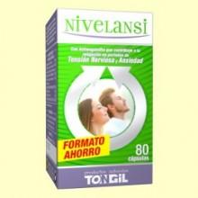 Nivelansi - Ayuda contra el estrés y la ansiedad - 80 cápsulas - Tongil