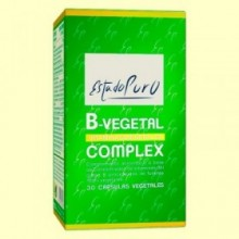 B-Vegetal Complex - Vitaminas B - Tongil - 30 cápsulas