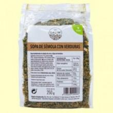 Sopa Sémola de Verduras - Int- 250 gramos -Salim