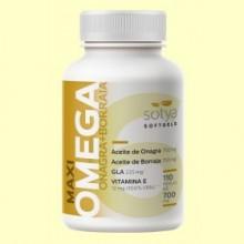 Maxi Omega Onagra y Borraja - 110 perlas - Sotya