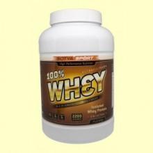Proteína 100% Whey suero de leche Sabor Plátano con yogur - 2,2 kg - Sotya