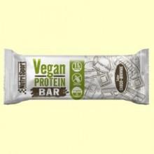 Vegan Protein Bar sabor Choco Brownie - 12 barritas - NutriSport