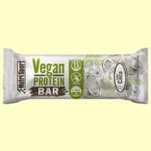 Vegan Protein Bar sabor Coco - 12 barritas - NutriSport
