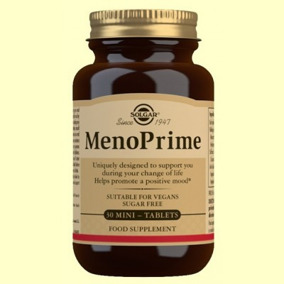MenoPrime - 30 mini comprimidos - Solgar