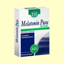 Melatonin Retard 1,9 mg - Melatonina - 60 microtabletas - Laboratorios Esi