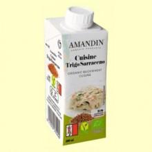 Cuisine de Trigo Sarraceno Bio - 200 ml - Amandin