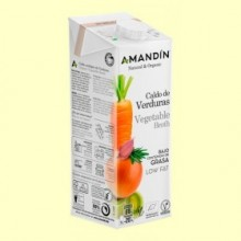 Caldo de Verduras Bio - 1 litro - Amandin