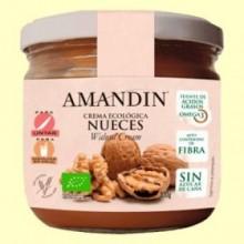 Crema Ecológica de Nueces - 330 gramos - Amandin
