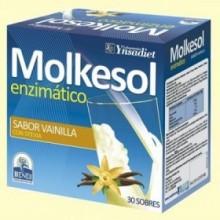 Molkesol Enzimático Sabor Vainilla - 30 sobres - Ynsadiet