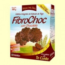 Fibrochoc - galletas integrales - 500 gramos - Hijas del Sol