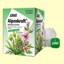 Infusión Alpenkraft - 15 bolsitas filtro - Salus