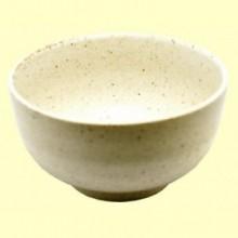Cuenco de Cerámica Makiko color Beige para Té Matcha - 300 ml - Cha Cult
