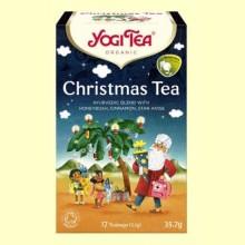 Christmas Tea - Té de Navidad - 17 bolsitas de infusión - Yogi Tea
