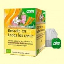 Flores de Bach Infusión Bio - Rescate en Todos los Casos - 15 bolsitas - Salus