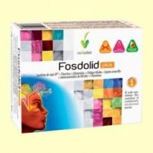 Fosdolid Plus Cápsulas - Rendimiento intelectual - 60 cápsulas - Novadiet