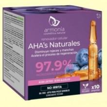 AHA's Naturales - Renovador - 10 ampollas - Armonía