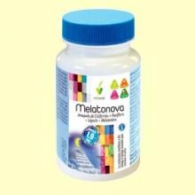 Melatonova - Melatonina - 60 cápsulas vegetales - Novadiet