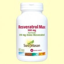 Resveratrol Max - 60 cápsulas - Sura Vitasan