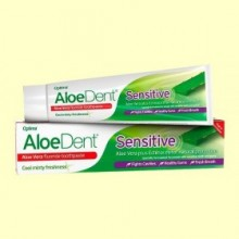 Aloe Dent - Dentífrico Aloe Vera Sensitive - 100 ml - Optima