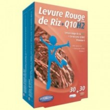 Levadura Roja de Arroz Bio + Q-10 H2 - Colesterol - Orthonat - 30 + 30 cápsulas