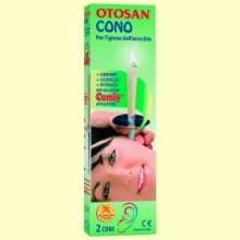 Cono para la Higiene del Oído - 2 conos - Otosan