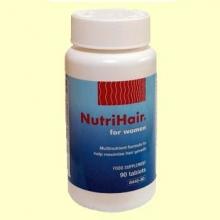 Nutri-Hair®- Nutrición del Cabello - Multinutrientes - Lamberts - 90 tabletas