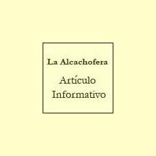 La Alcachofera - Artículo informativo de Rafael Sánchez - Naturópata